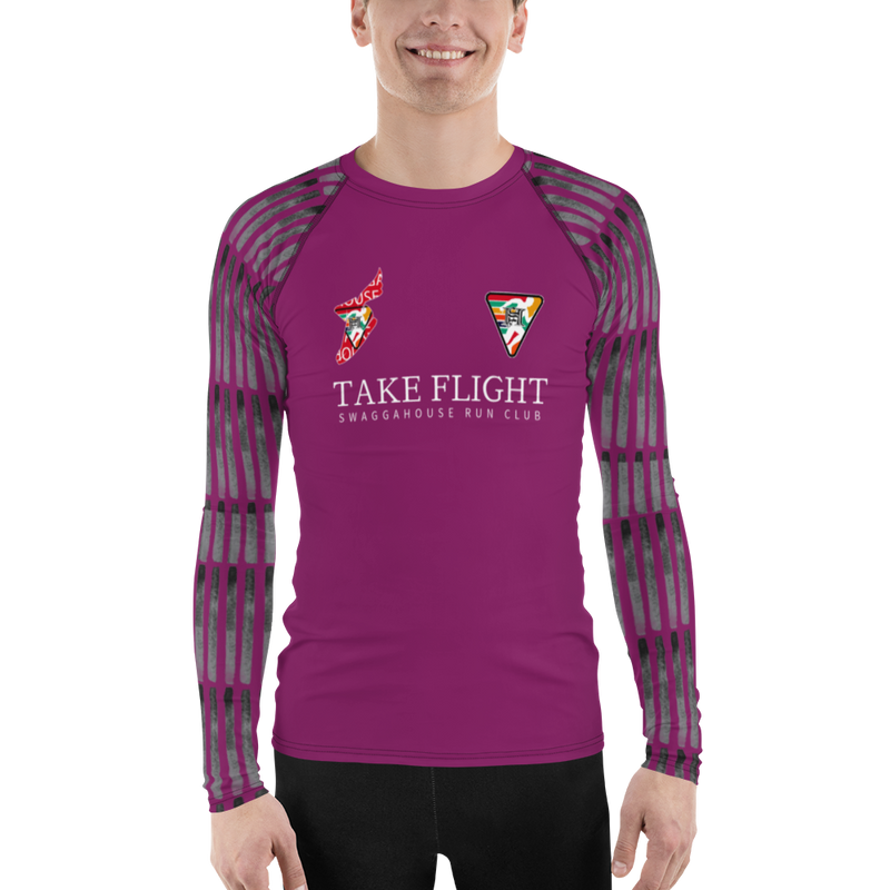 shrc take flight runner Long Sleeve (purple)