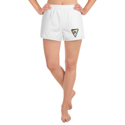 Women's Athletic ShortS SHRC MULTI LOGO WHITE
