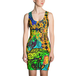 Verano Luxe Dress Blue and Gold (Women's)