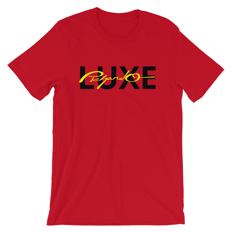 Red Luxe Tee