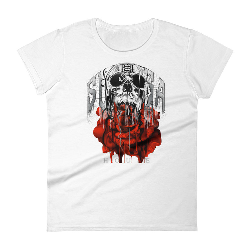 Women's Pichardo Shirt Rose Skull (More Colors Available)