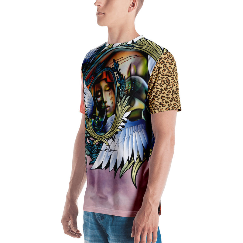 Men's Pichardo Shirt Full Print Winged Mirror (More Colors Available)
