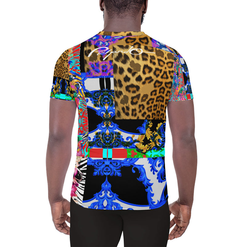 Verano Luxe Shirt Blue, Leopard and Floral (Men's)