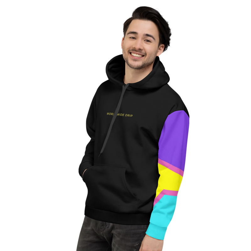 World Wide Drip Pull Over Hoodie