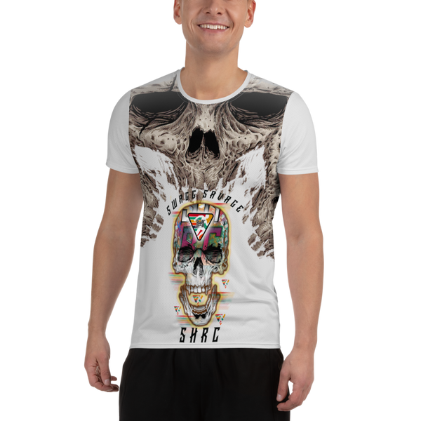SKULL GANG SHRC Men's Athletic T-shirt