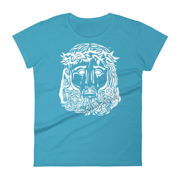 Women's Pichardo Shirt Jesus Face (More Colors Available)