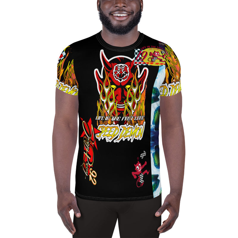 Men's Full Print Speed Demon Weirdo Shirt
