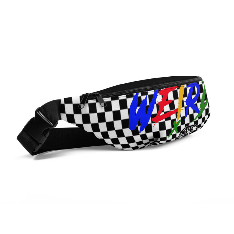 Multi-Colored Weirdo Print Fanny Pack