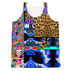 Verano Luxe Tank Blue, Leopard and Floral (Men's)