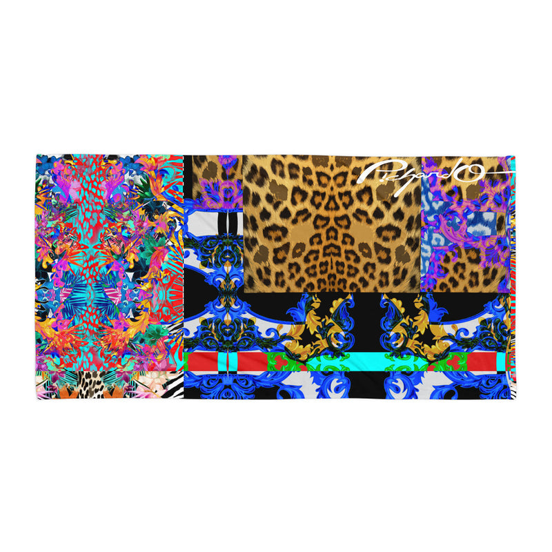 Verano Luxe Towel Floral and Leopard