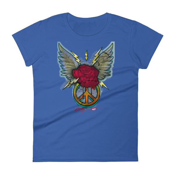 Women's Pichardo Shirt Winged Rose (More Colors Available)