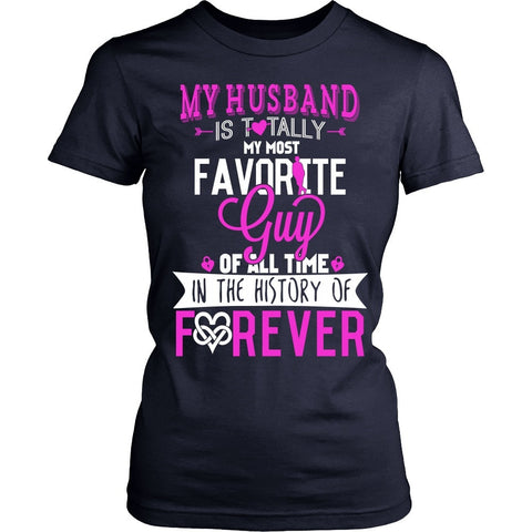 T-shirt - MY HUSBAND - MY FOREVER