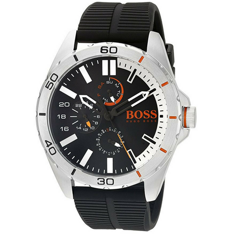 BOSS Orange Men's 1513290 berlin Analog Display Japanese Quartz Black Watch