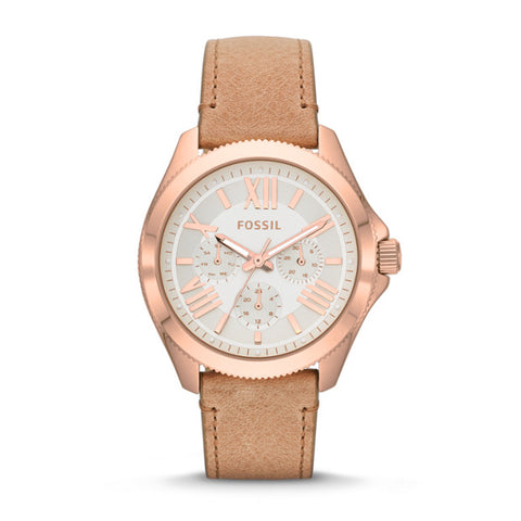 Fossil Analog White Dial Women's Watch   AM4532