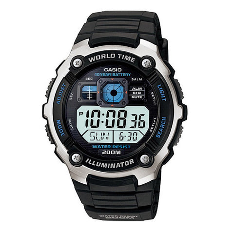 Casio AE-2000W-1AVSDF Digital Sports Watch - www.hirawatch.com - 1