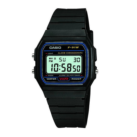Casio F91W-1XY Digital Sports Watch - www.hirawatch.com - 1