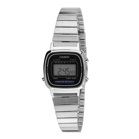 Casio LA670WA-1SDF Retro Digital Sports Watch - www.hirawatch.com - 1