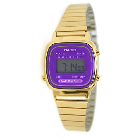 Casio LA670WGA-6DF Retro Digital Watch - www.hirawatch.com - 1