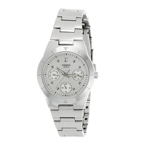 Casio LTP2083D-7AVDF Multifunction Steel Watch - www.hirawatch.com - 1