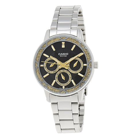 Casio Enticer LTP2087D-1AVDF Analog Steel Watch - www.hirawatch.com - 1