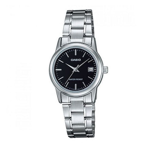 Casio LTPV002D-1AUDF Analog Steel Watch - www.hirawatch.com - 1