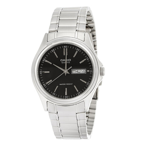 Casio Enticer MTP-1239D-1ADF Analog Steel Watch - www.hirawatch.com - 1