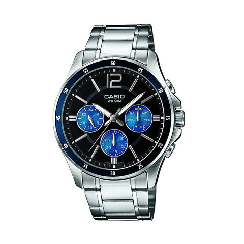 Casio Enticer MTP-1374D-2AVDF Multifunction Watch - www.hirawatch.com - 1