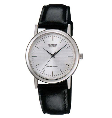Casio MTP1095E-7ADF Analog Leather Watch - www.hirawatch.com - 1