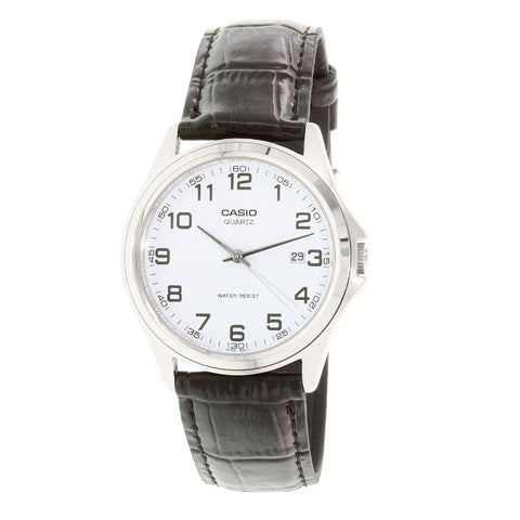 Casio MTP1183E-7BDF Analog Leather Watch - www.hirawatch.com - 1