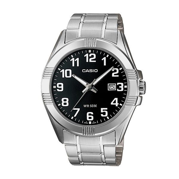 Casio MTP1215A-1ADF Analog Steel Watch - www.hirawatch.com - 1