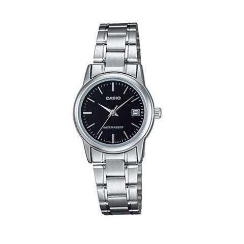 Casio MTPV002D-1AUDF Analog Steel Watch - www.hirawatch.com - 1