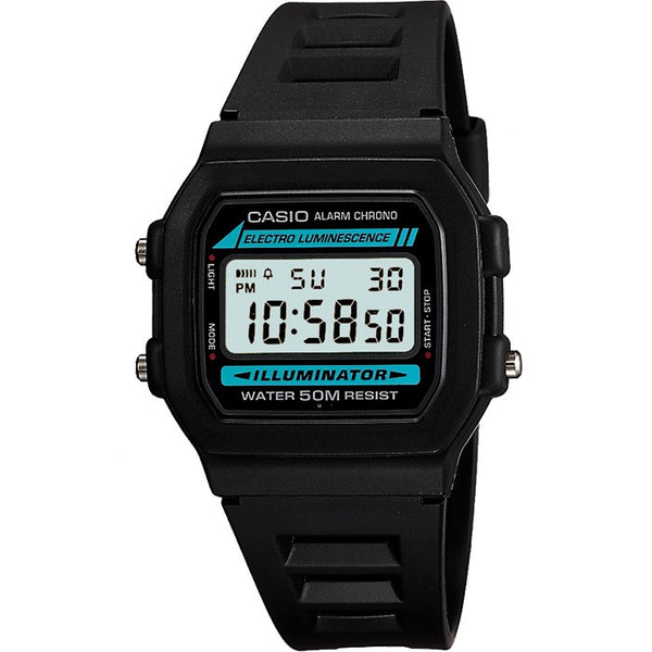 Casio W86-1VQES Digital Illuminator Watch - www.hirawatch.com