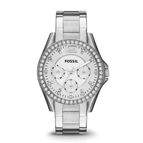 Fossil Riley ES3202 Stainless Steel Watch for Women - www.hirawatch.com - 1