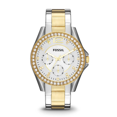 Fossil Riley ES3204 Women's Stainless Steel Watch - www.hirawatch.com - 1