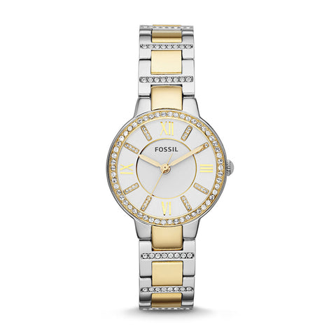 Fossil Virginia ES3503 Women's Crystal Accent Watch - www.hirawatch.com - 1