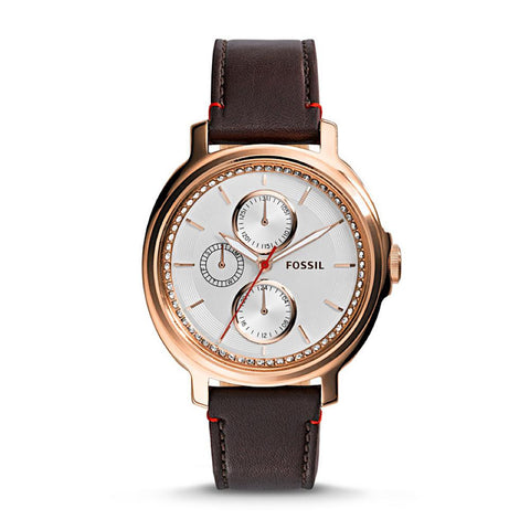 Fossil Chelsey ES3594 Women's Leather Watch  www.hirawatch.com  1