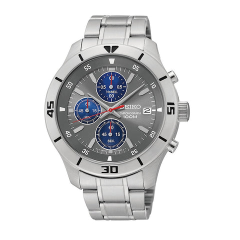 Seiko SKS407 Men's Chronograph Analog Watch - www.hirawatch.com - 1