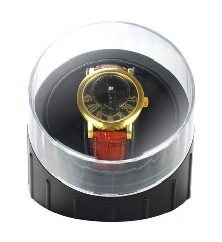 Time Tutelary KA001-BK Automatic Single Watch Winder - www.hirawatch.com - 1