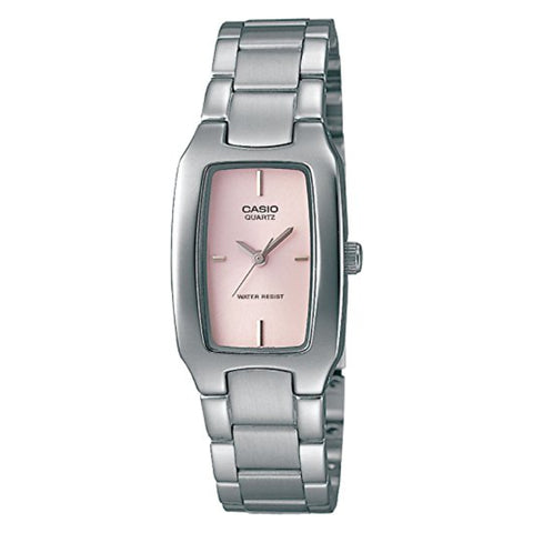 Casio Enticer Analog Pink Dial Women's Watch - LTP-1165A-4CDF