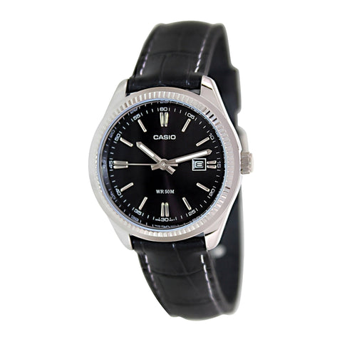 Casio Enticer Analog Black Dial Women's Watch - LTP-1302L-1AVDF