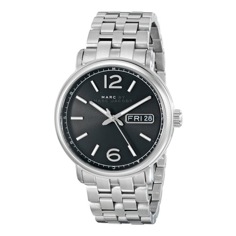 Marc by Marc Jacobs Men's MBM5075 Fergus Stainless Steel Watch with Link Bracelet