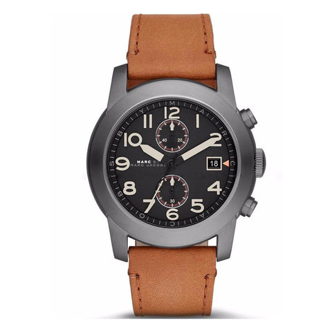 Marc by Marc Jacobs Men's MBM5082 Analog Display Analog Quartz Brown Watch