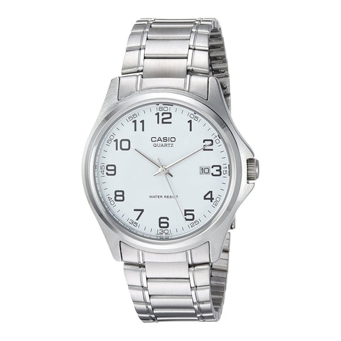 Casio Enticer Analog White Dial Men's Watch - MTP-1183A-7BDF