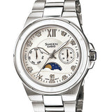 Fossil Townsman FS4872 Men's Chronograph Watch and Casio Sheen SHE-3500D-7AER - Combo