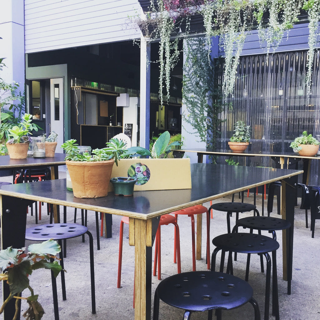 pop up street food at wandering Cooks South Brisbane