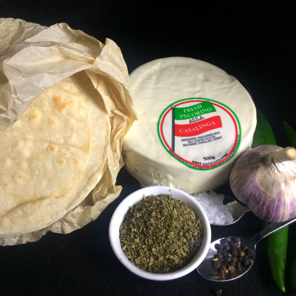 Oregano Jalapeño Baked Cheese Kit
