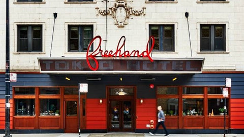 Freehand Hotel in Chicago! Excellent location and price.