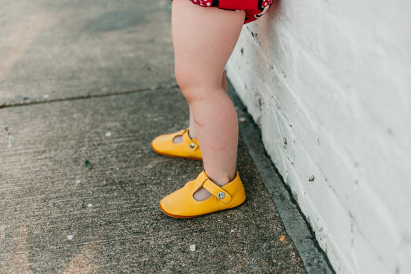 SALE -Sunshine - Minimalist Mary Janes
