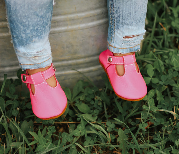 SALE Flamingo - Minimalist Mary Janes