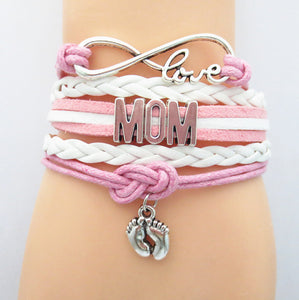 Infinity Love Mom Bracelet Hot Sale Mom Gift Jewelry